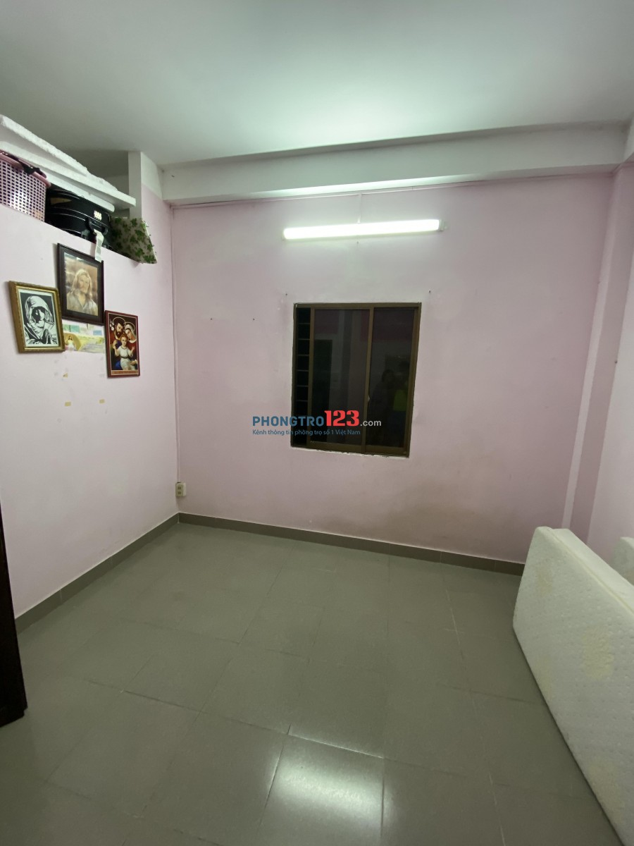 Phòng cho thuê 20m2 sạch sẽ, sáng, mát tại Bàu Cát, Tân Bình
