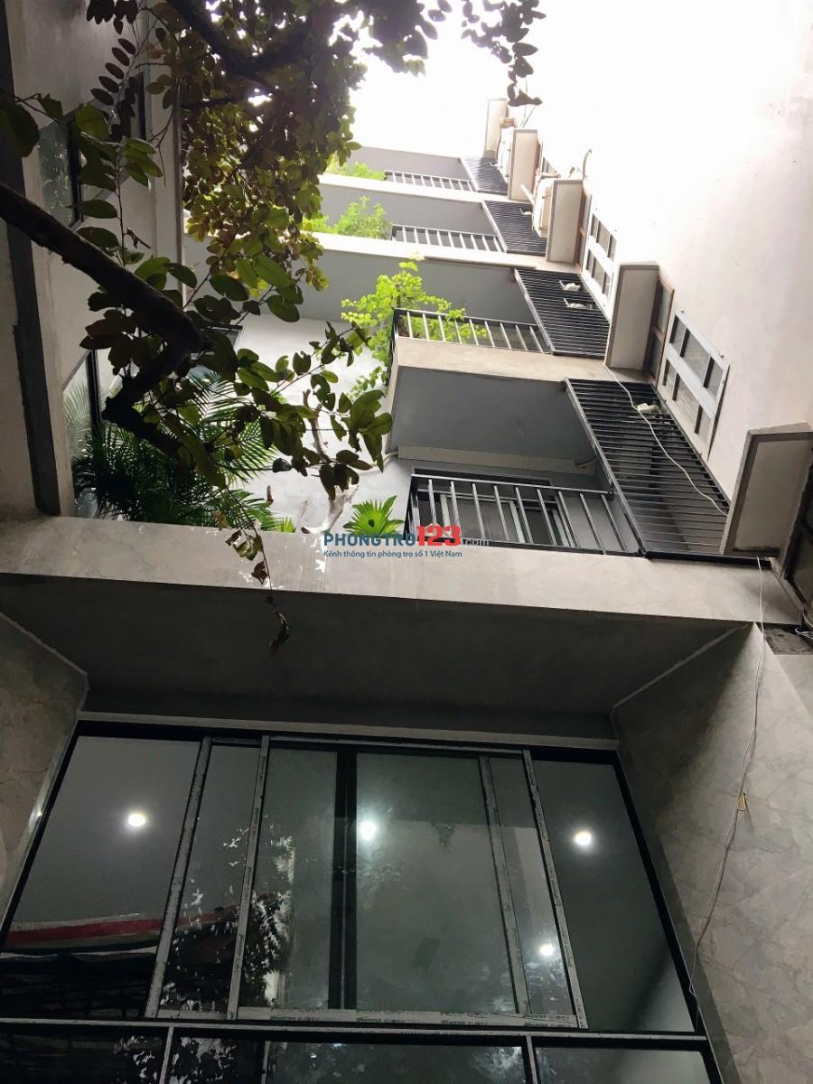 Phòng trọ mới có thang máy, full đồ