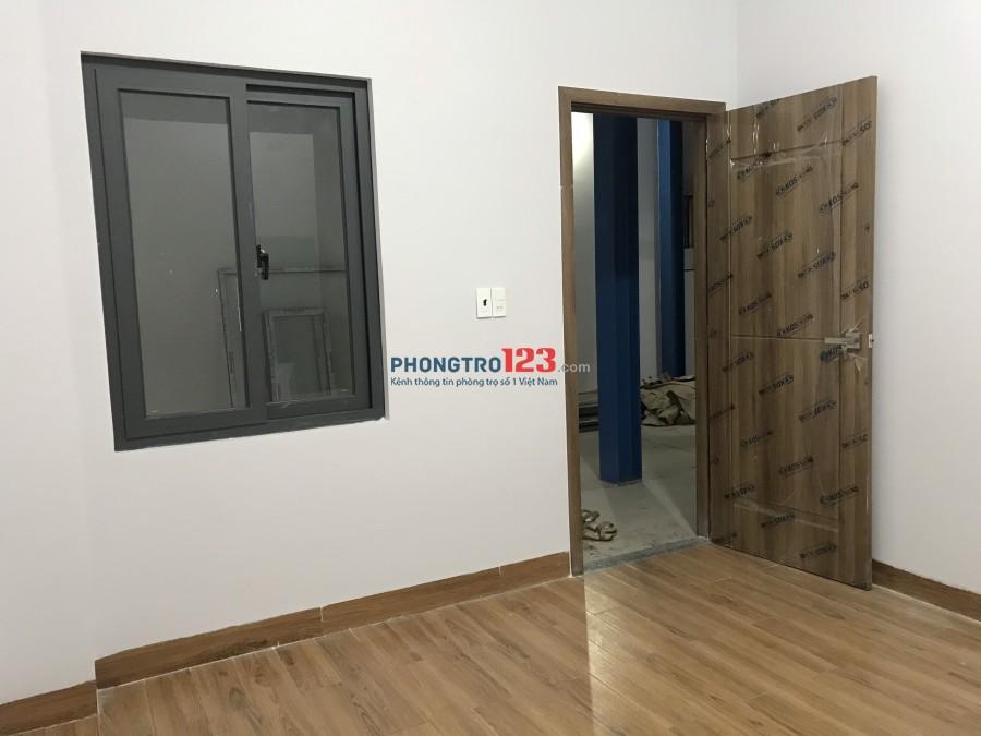 Cho thuê phòng có máy lạnh 25m2 mới xây tại 318 Nguyễn Xí P13 Q Bình Thạnh giá 4tr/th
