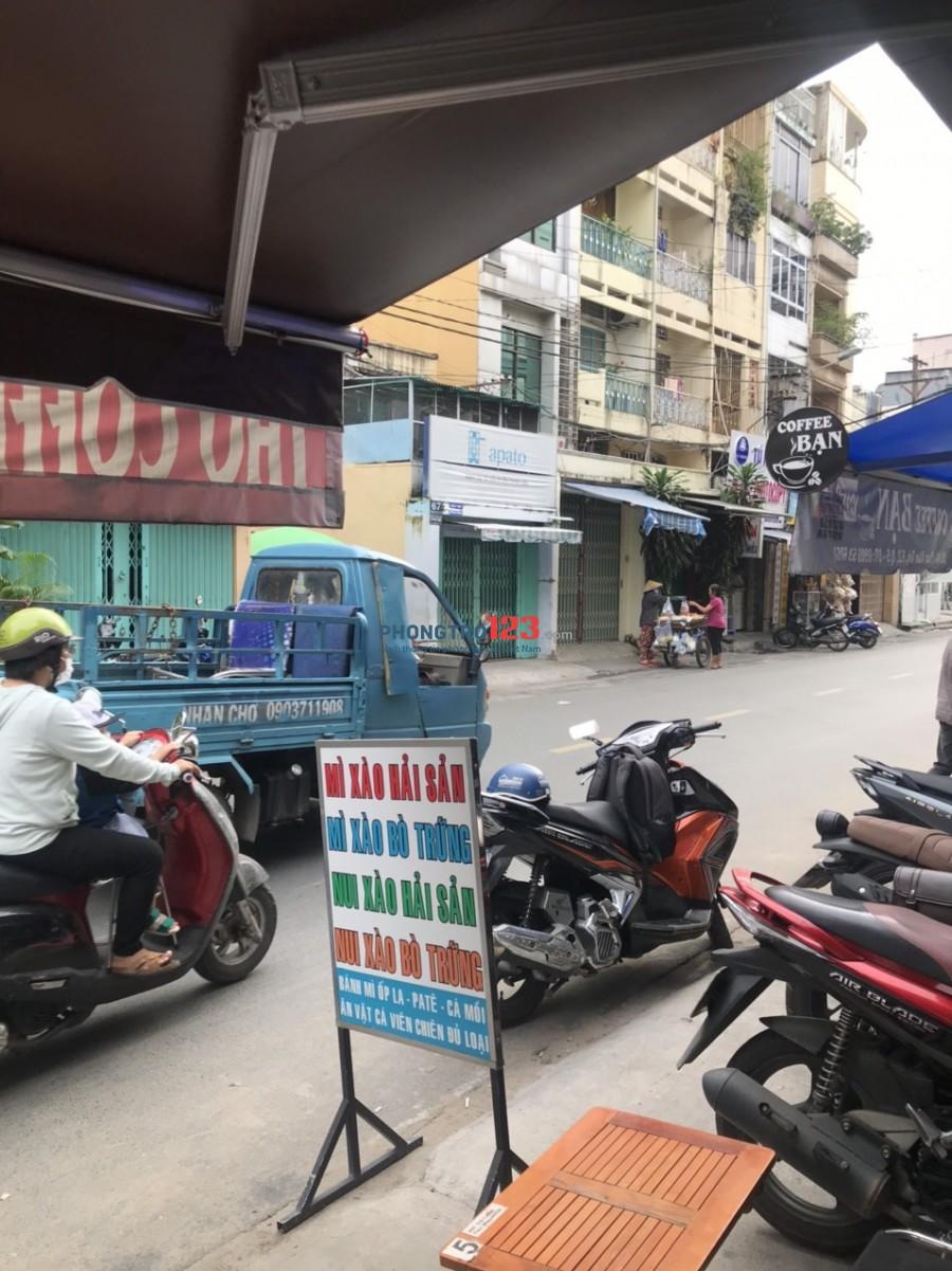 Chính chủ Sang quán cafe đầy đủ vật dụng mặt tiền 40 Phan Văn Trị P2 Q5