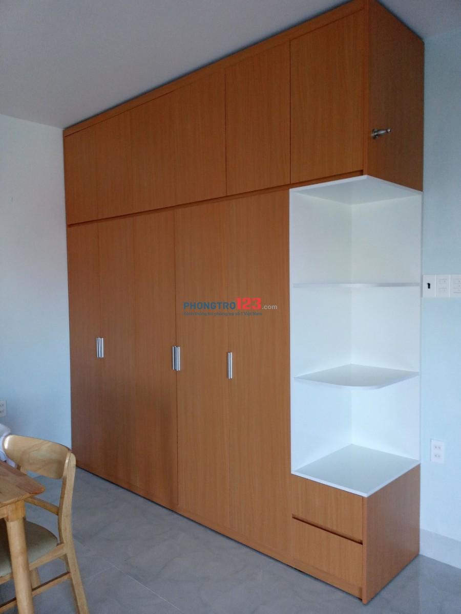 Cho thuê căn hộ khép kín đẹp mới đầy đủ tiện nghị cao cấp gần chợ bình tân