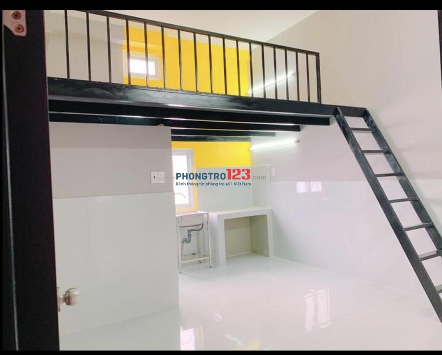 Cho thuê phòng mới xây khu vực LÊ VĂN LƯƠNG