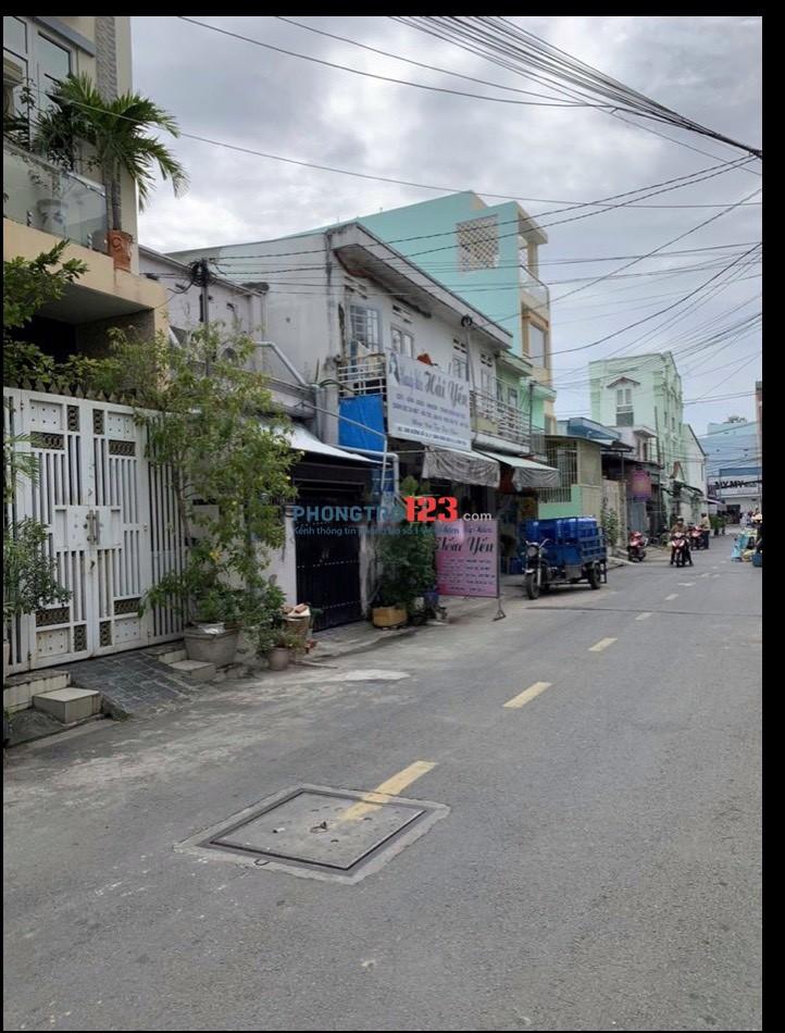 Cho thuê nhà NC 75m2 Mặt tiền 4A Đường số 18 Lê Văn Quới P BHH A Q Bình Tân giá 8tr/th