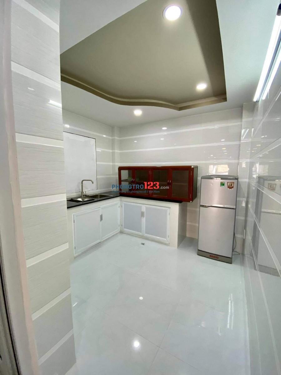 Cho thuê nhà mới xây quận Tân Bình