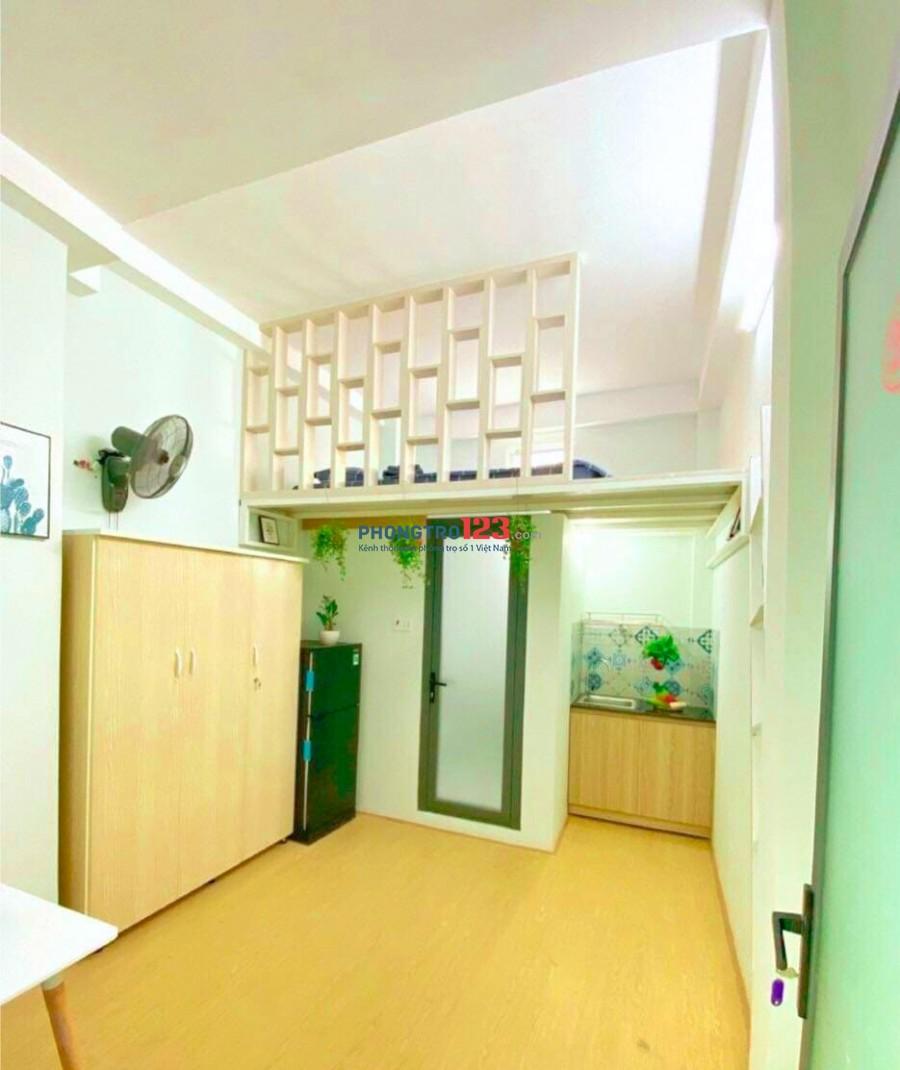 Căn hộ mini full nội thất 30m2 giá 3TR8 tại quận Tân Bình, cửa sổ siêu thoáng mát , an ninh, giờ giấc tự do