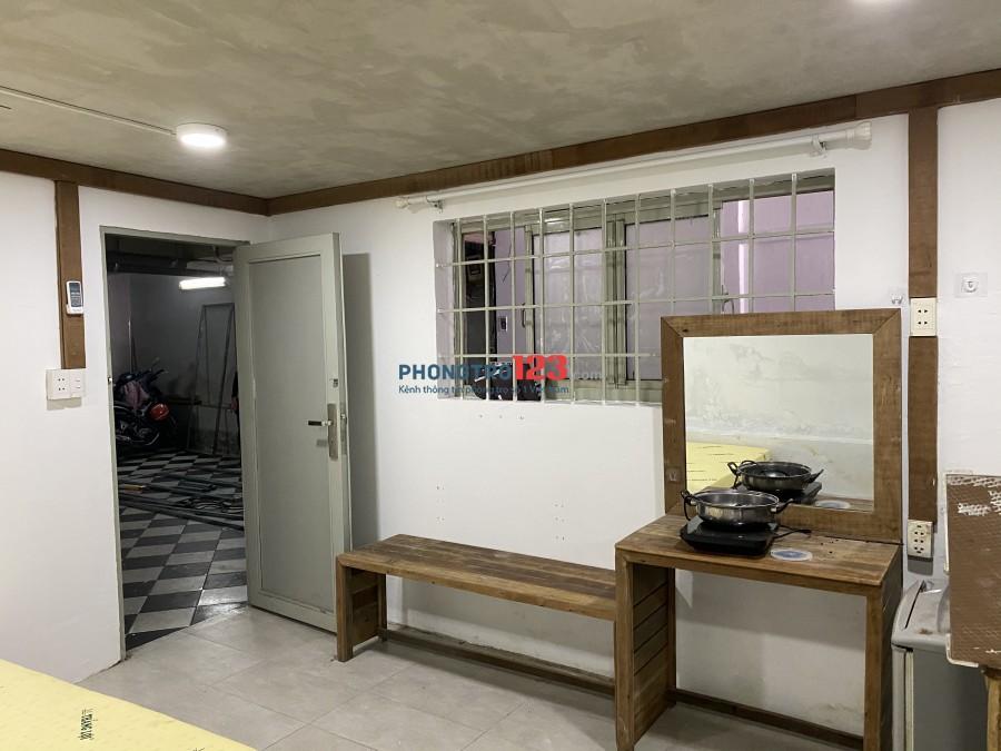 Phòng đầy đủ tiện nghi quận 3, ngay sát chợ Tân Định