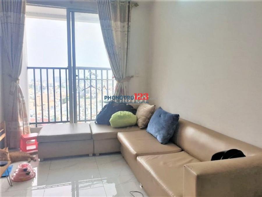 Ở ghép chung cư Central Plaza 4tr5 - Full nội thất - View toàn thành phố