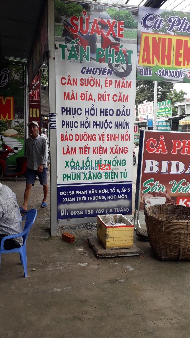 Sang gấp mặt bằng kinh doanh 300m2 mặt tiền Phan Văn Hớn Xuân Thới Thượng HM
