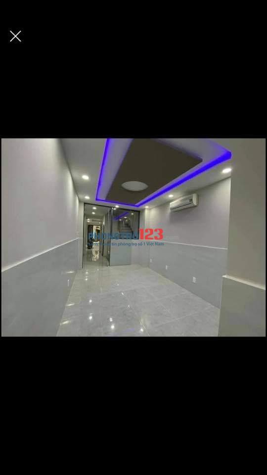 Cho thuê phòng mới 25m2 đầy đủ nội thất tại 135/10 Thành Thái P14 Q10 giá 5,5tr/th