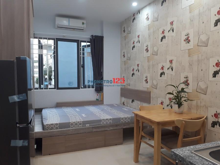 Cho thuê căn hộ mini 20m2 , full nội thất, hẻm Nguyễn Thiện Thuật