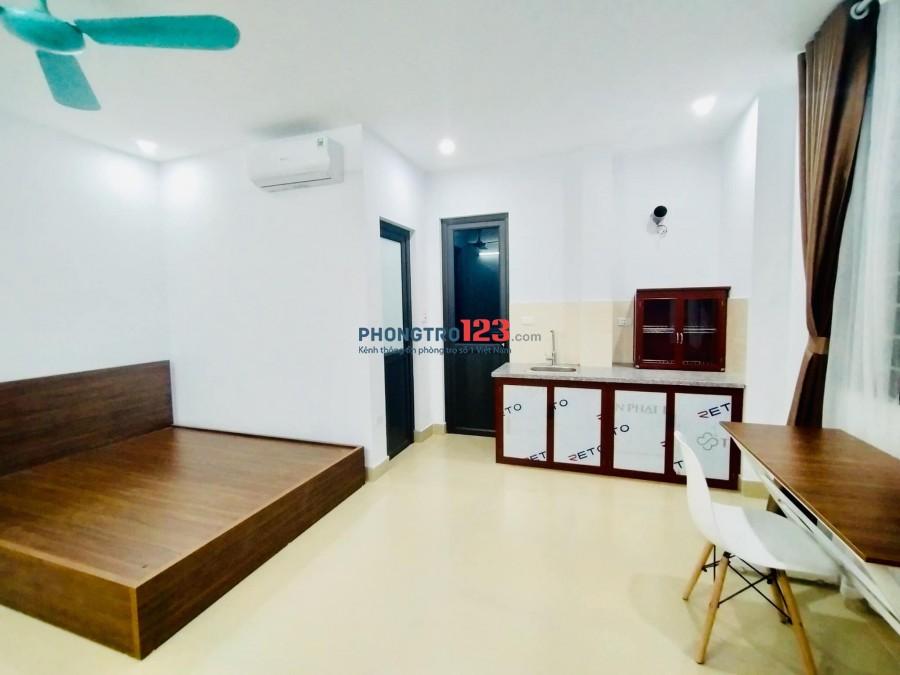 Cho thuê phòng trọ mới, full nội thất tại ngõ 201 Cầu Giấy