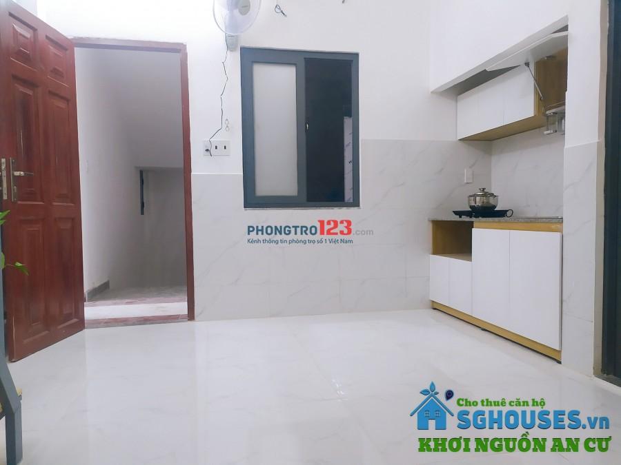 Cho thuê căn hộ mini gác, tiện nghi, mới 100% hẻm 693 Tân Kỳ Tân Quý