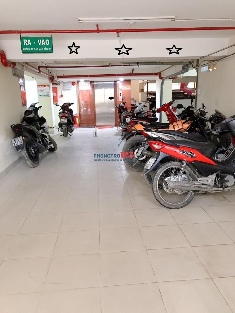 Phòng trọ chung cư 7 tầng Nguyễn Văn Linh