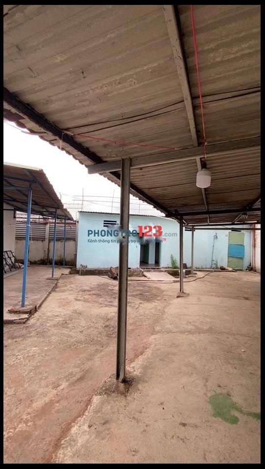 Cho thuê 200m2 đất trống có mái che mặt tiền số 16 Đường 53 P14 Q Gò Vấp