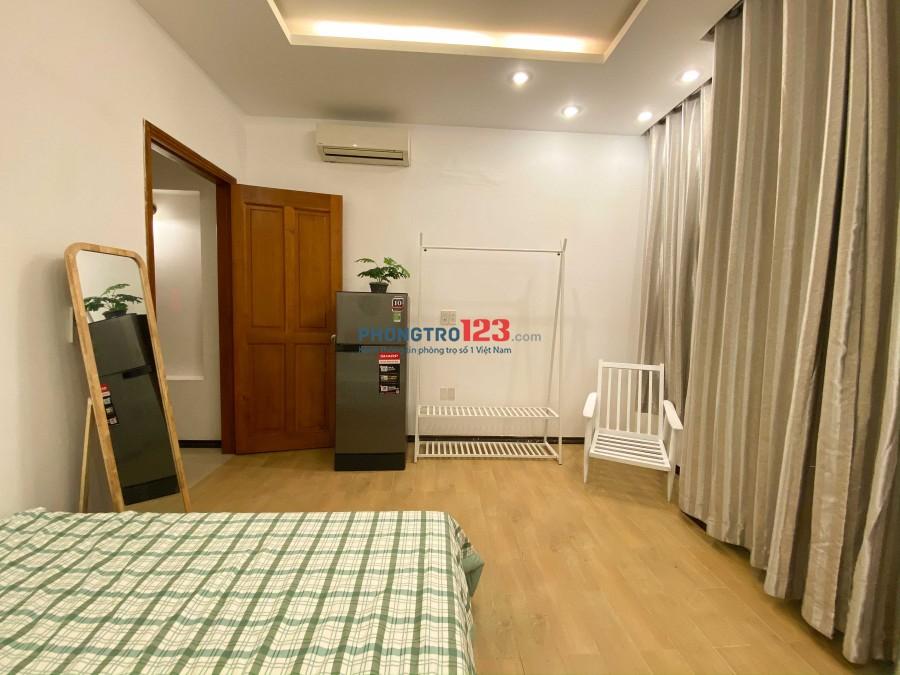 Cho thuê phòng full nội thất, khu trung tâm Q1, yên tĩnh đầy đủ tiện nghi