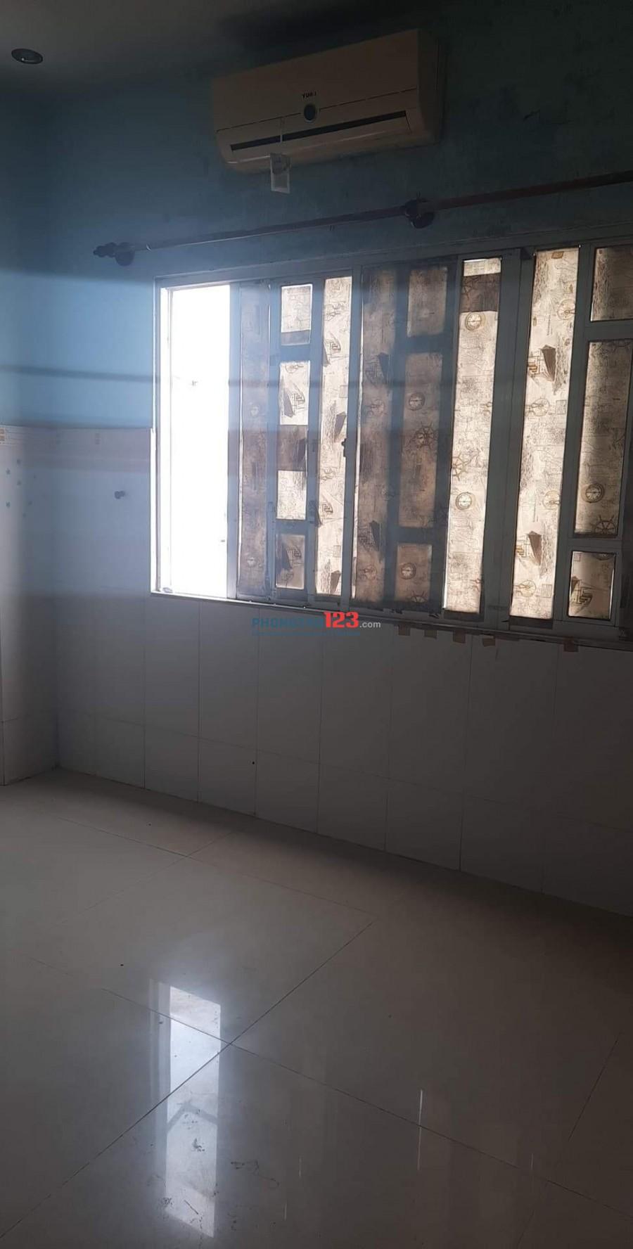 Cho thuê phòng trọ tại Phạm Hùng Quận 8, Có máy lạnh