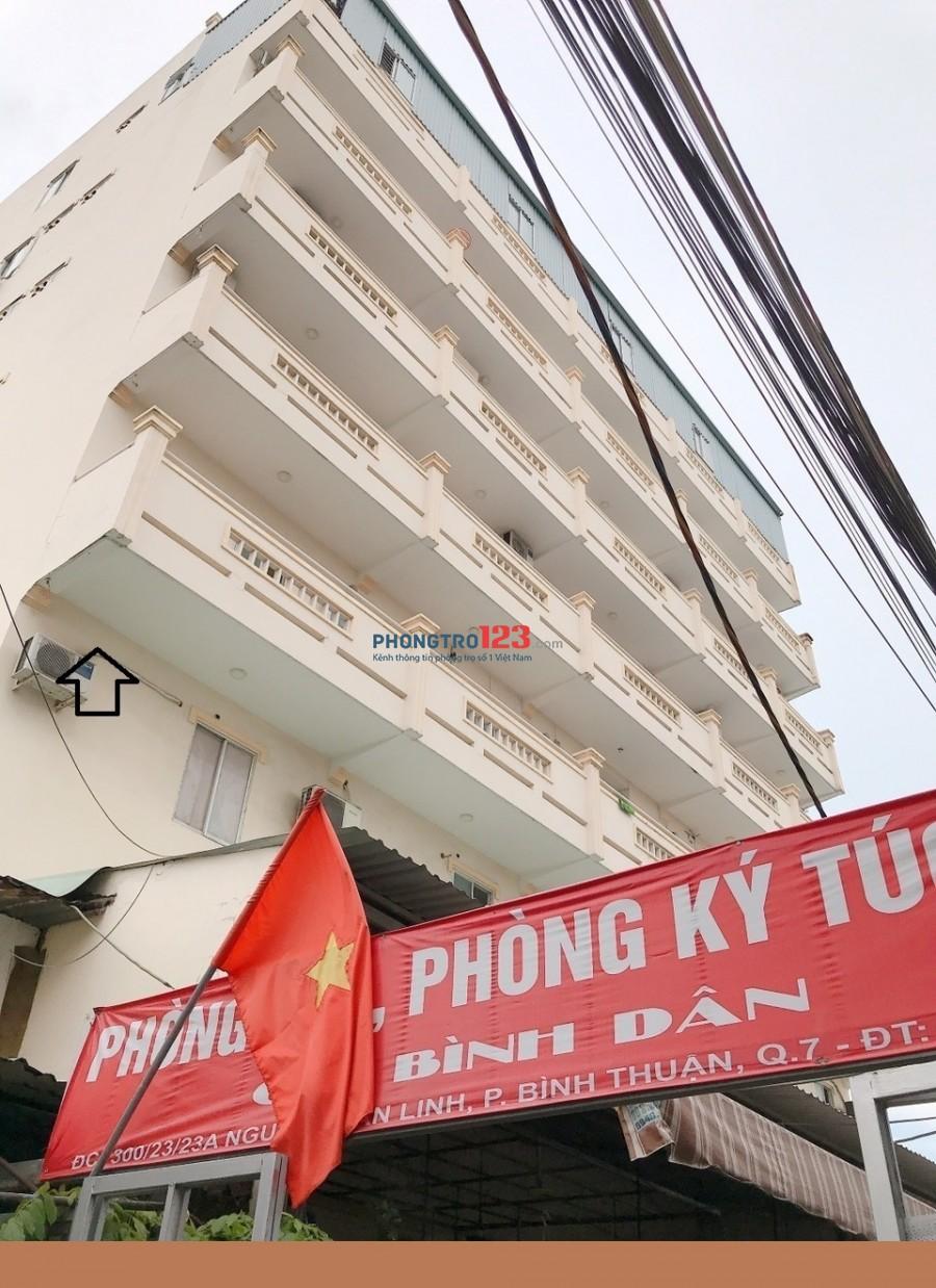 Phòng KTX bình dân gần KCX Tân Thuận