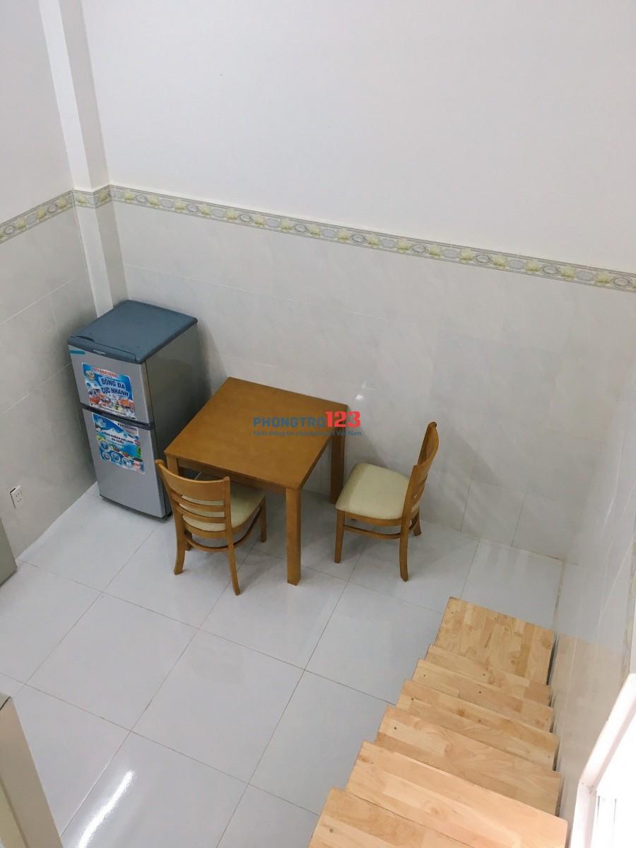 phòng trọ có gác full nội thất sạch sẻ thoáng mát giá sinh viên ngay p14 quận tân bình