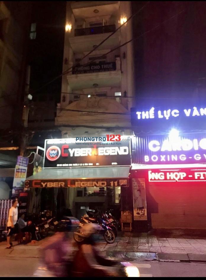 Cho thuê phòng Full nội thất tại 96 Hoàng Hoa Thám P12 Q Tân Bình giá 4,5tr/th