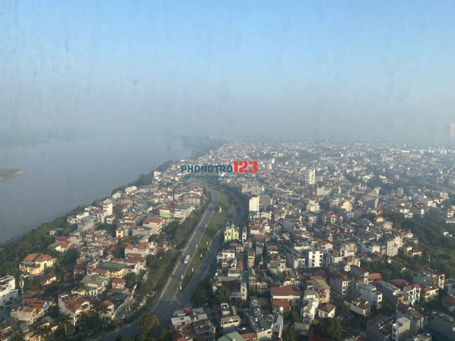Chung cư Mipec Long Biên 85m² 2PN, tầng 30 , 12 triệu/ tháng