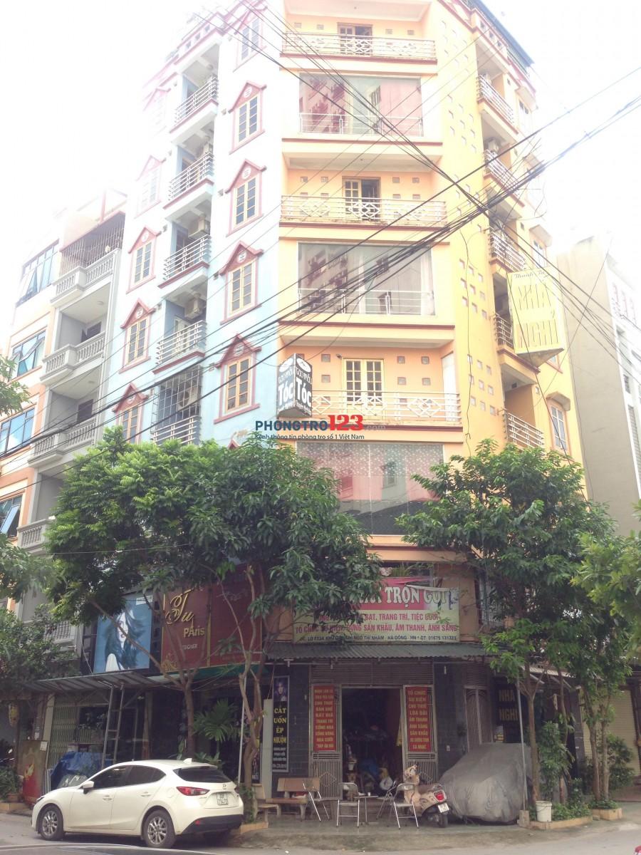 Tòa nhà 9 tầng lô góc mặt tiền mặt phố Ngô thì nhậm cho thuê