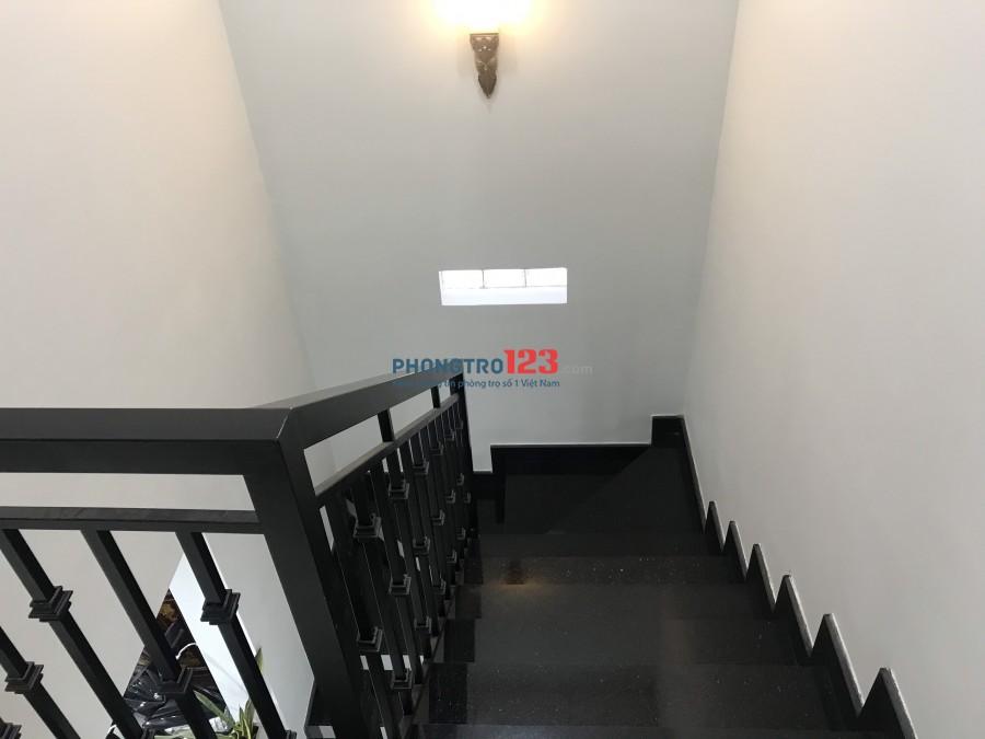 Cho thuê nhà NC 4x10 1 trệt 1 lầu tại hẻm 115 Nguyên Hồng P1 GVấp giá 9,5tr/th