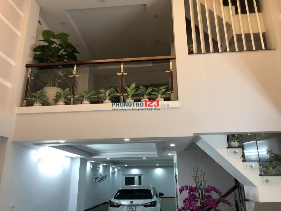 Chính chủ cho thuê văn phòng nhà mới xây mặt tiền Lê Quang Định Q Bình Thạnh