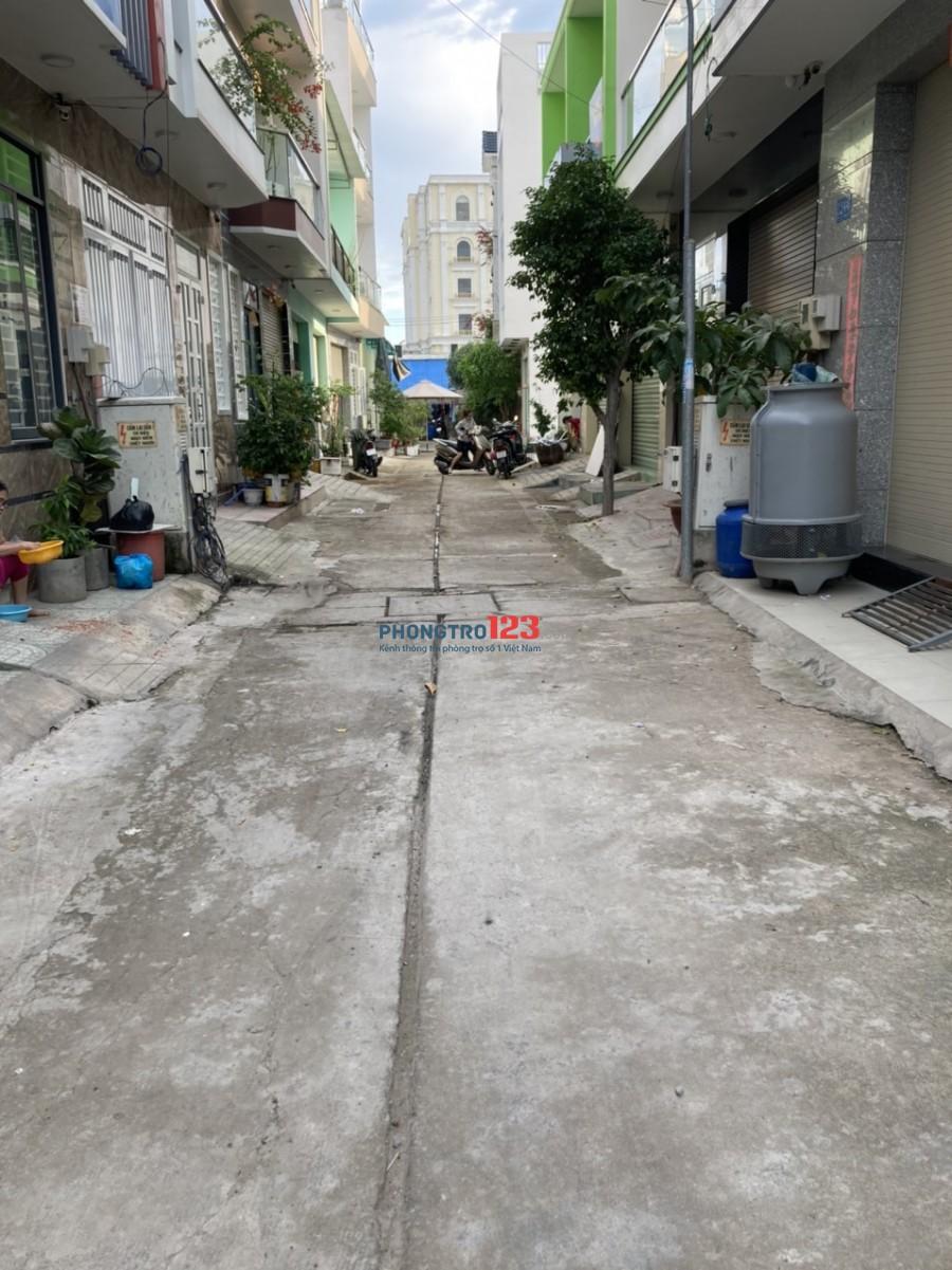 Cho thuê kho xưởng 6x10 mới xây tại 12/4/1 Đường số 14 P BHH A Q Bình Tân