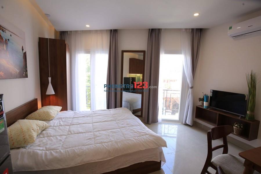 Căn hộ mini Nguyễn Kiệm Phú Nhuận cao cấp, đầy đủ nội thất, không gian thoáng mát, view đẹp!!