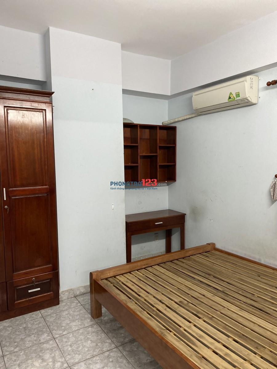 Cho thuê CH Chung Cư Khang Gia Gò Vấp, 60m2, giá 6.5tr/tháng, Có một phần nội thất