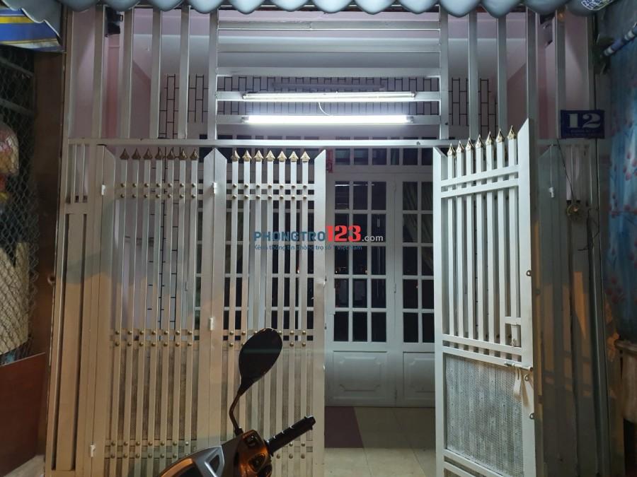 Chính chủ cho thuê nhà nguyên căn 4x15 mặt tiền chợ Tân Tạo Q Bình Tân