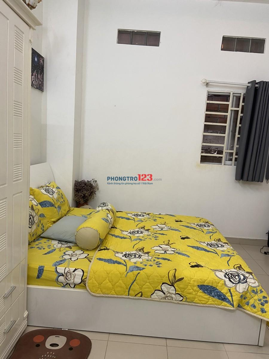 Căn hộ dịch vụ mini trung tâm Quận 1- 8/19a Đinh Tiên Hoàng, P. Đa Kao, Quận 1, giá 7tr/tháng, nội thất đầy đủ