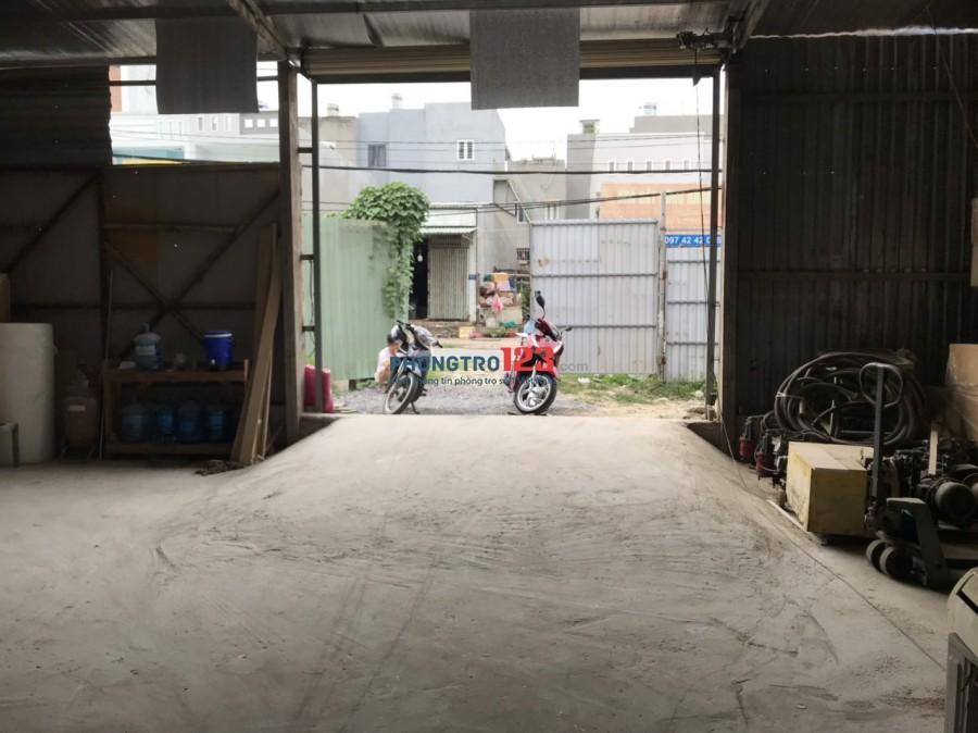 Chính chủ cho thuê 400m2 KD Kho Xưởng mặt tiền 306 Võ Văn Hát P Long Trường Q9