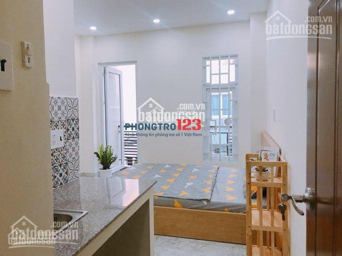 Cho thuê phòng trọ cao cấp đường Nguyễn Cửu Vân, Phường 17, Quận Bình Thạnh DT 25m2 - 35m2