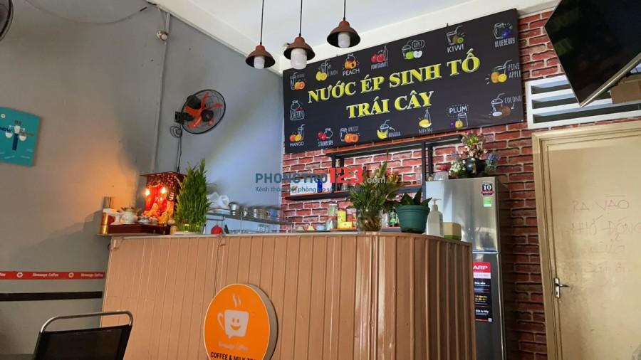 Chính chủ cần sang gấp quán cafe có vật dụng tại Lý Văn Phức P Tân Định Q1