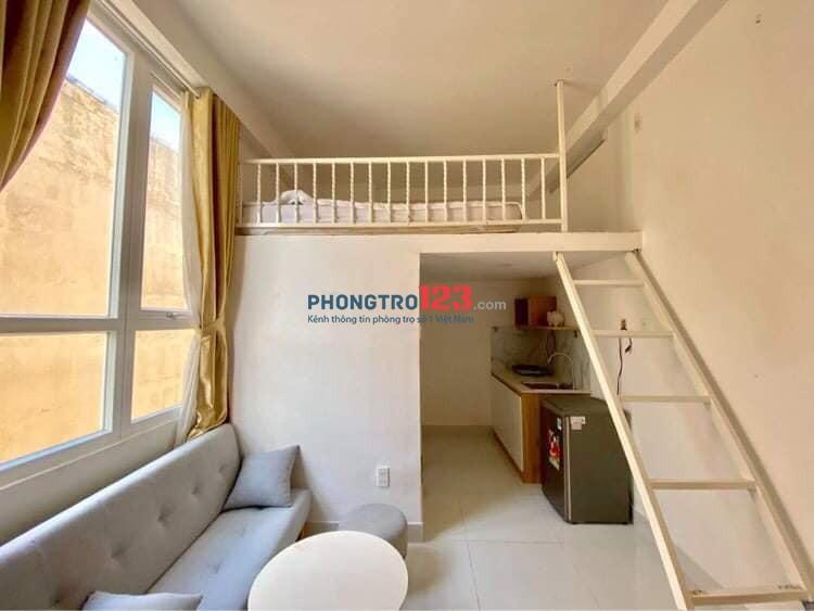 Phòng trọ cao cấp thoáng mát sạch sẻ cho thuê giá siêu rẻ 30m2 p15 q.tân bình