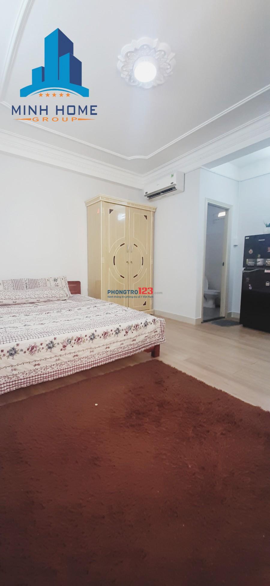 Phòng cho thuê fullll nội thất F4 Tân Bình