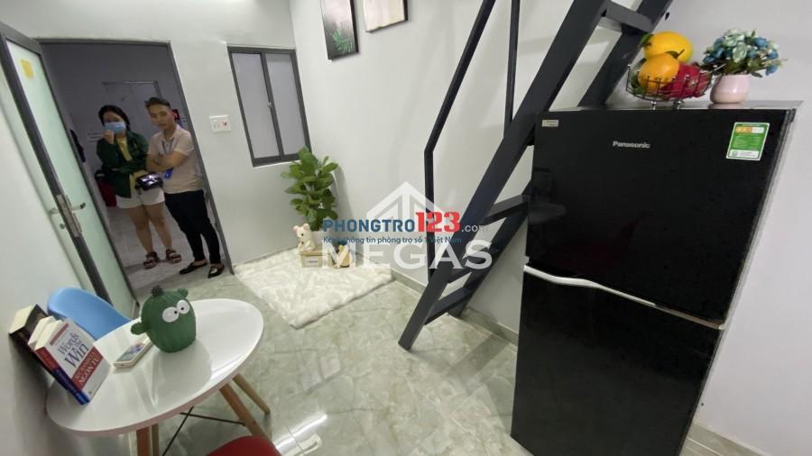 Cho thuê phong mới xây khai truong Tân Phú-Hoà Bình-Tô Hiệu- CV Đầm Sen giá SV có thang máy