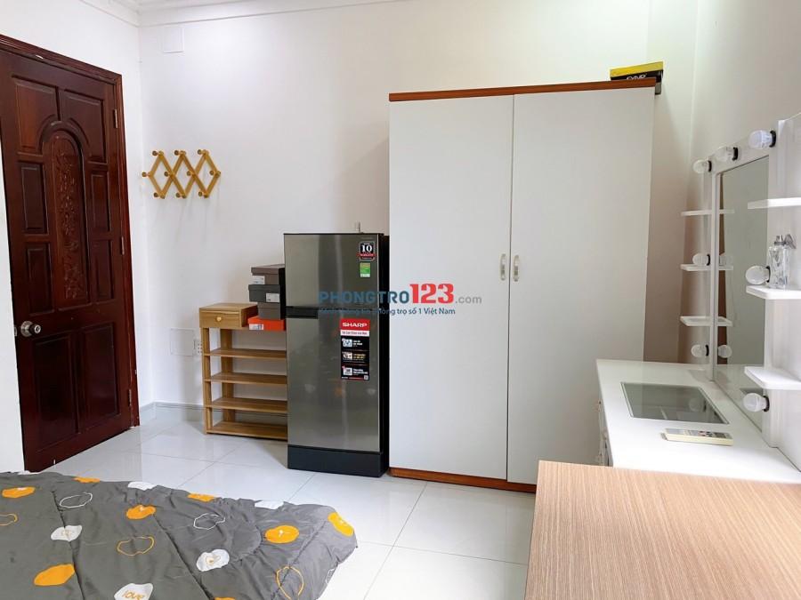 Phòng trọ full nội thất giá rẻ Phú Nhuận