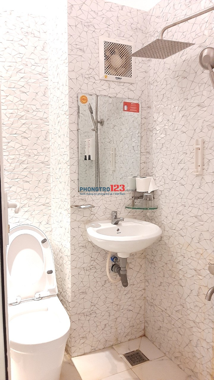 Căn hộ dịch vụ giá rẻ đẹp như khách sạn tại trung tâm TPHCM mới tinh tươm