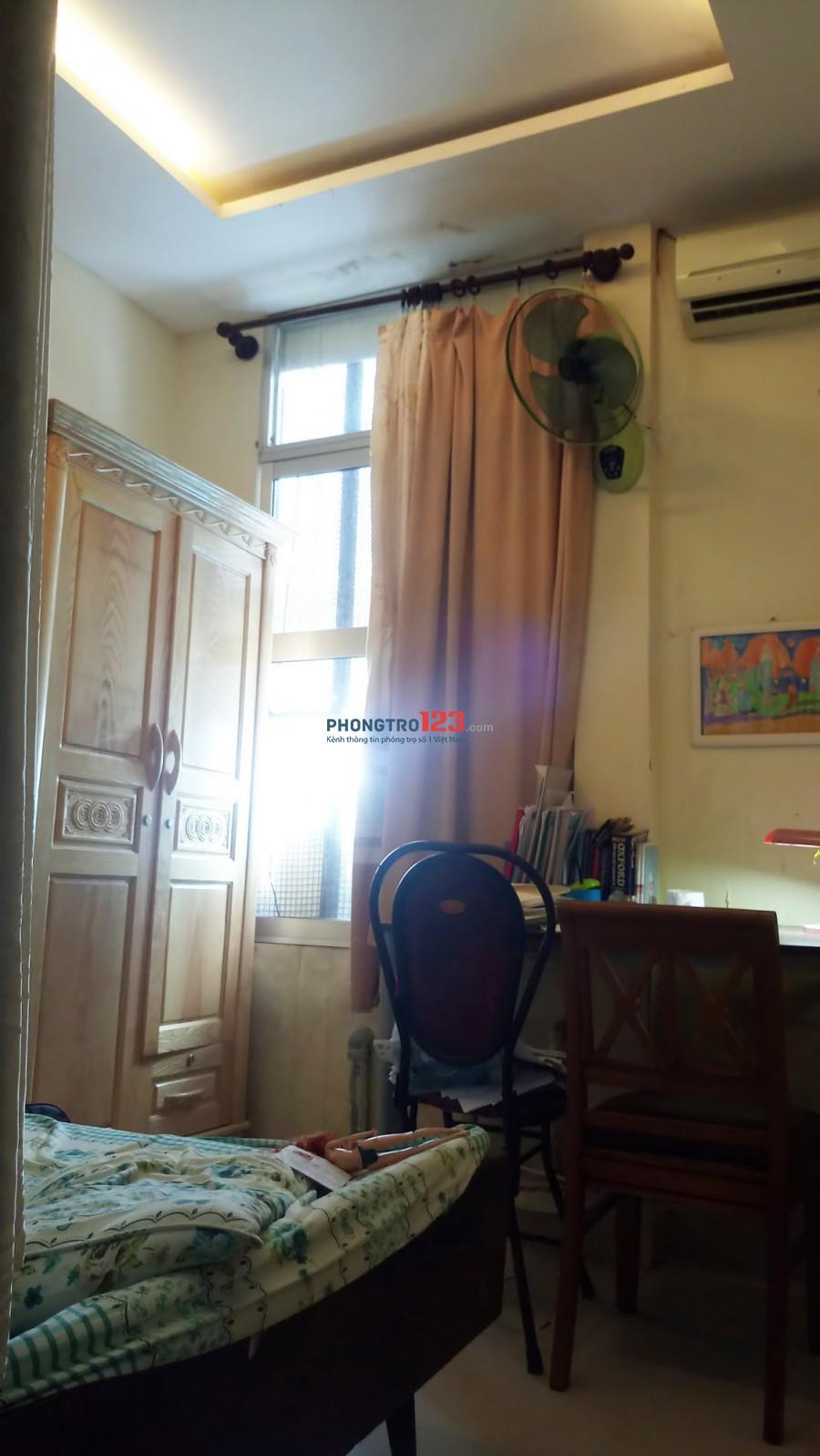 Cho thuê chung cư lầu 1,Quận 10. 102m2