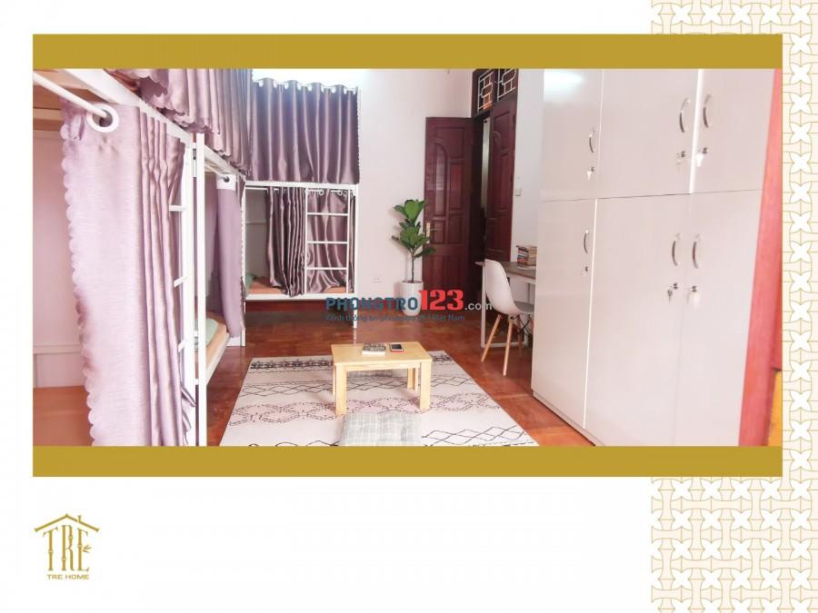 Cho thuê phòng trọ giường tầng homestay ngay 429 Thuỵ Khuê (gần chợ Bưởi) giá chỉ từ 1tr6/người/tháng bao điện nước