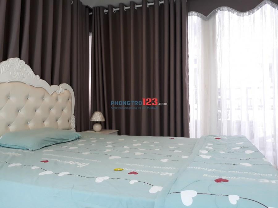 Cho thuê nhà NC 4x8 1 trệt 3 lầu đầy đủ nội thất hẻm 382 Nguyễn Thị Minh Khai Q3 giá 23tr/th