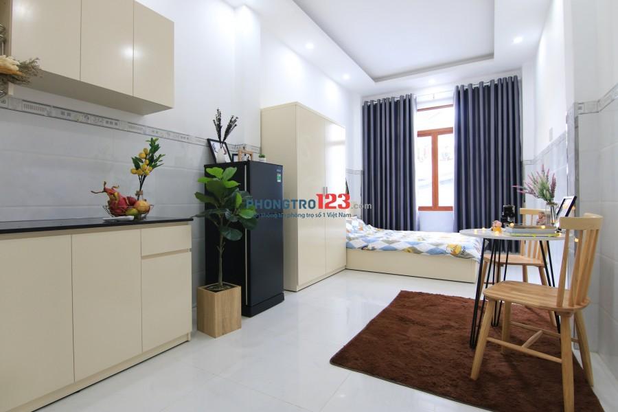 Cho thuê phòng Studio full tiện nghi cao cấp tại 453/92 Lê Văn Sỹ - P12 - Q 3