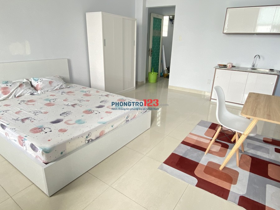 Cho thuê CHDV quận Tân Bình giá ưu ái dịp Tết- Nội thất cơ bàn hoặc full nội thất