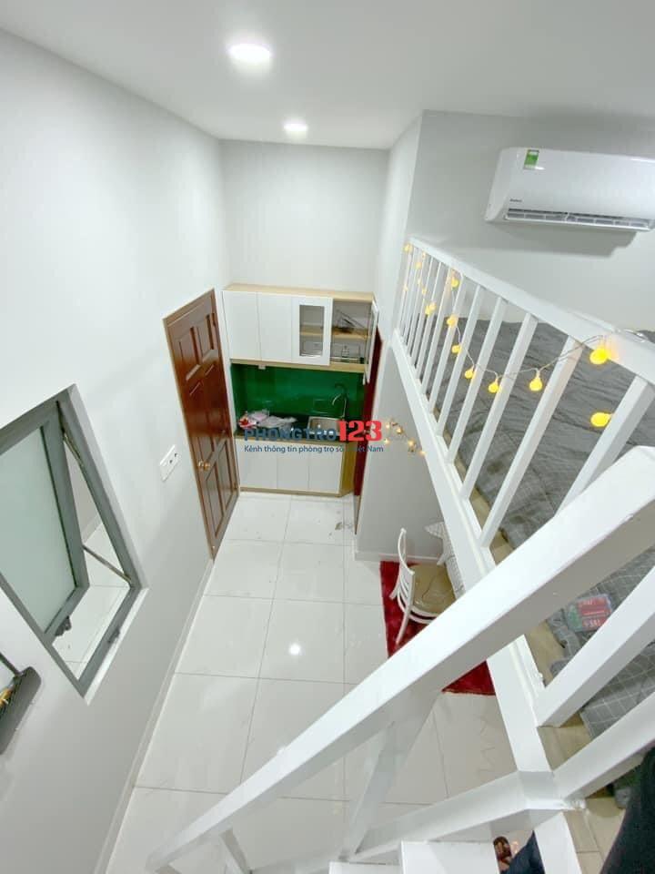 Hot - cho thuê căn hộ chung cư mini quận Tân Bình, có sẵn nội thất, giá tốt tháng 12/2020