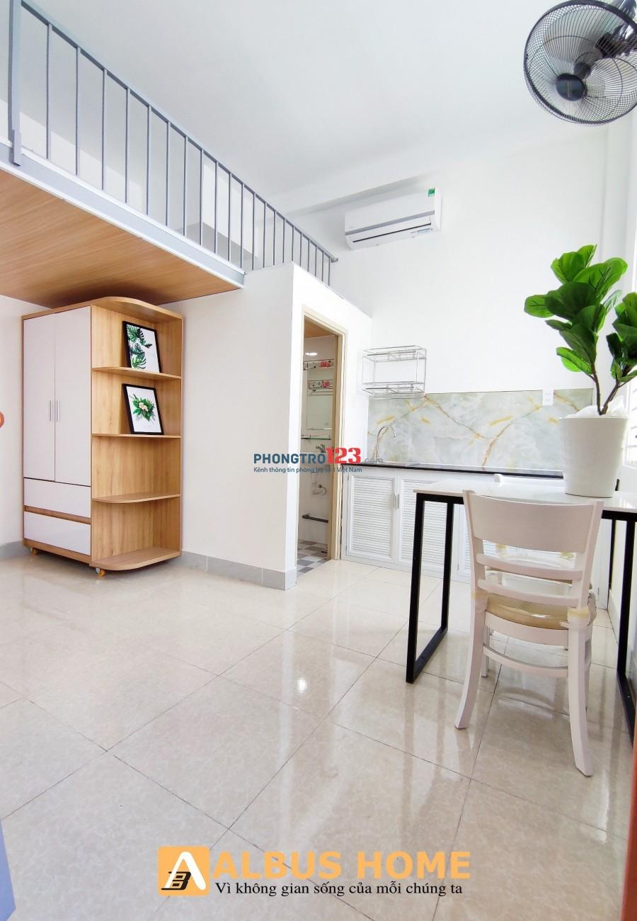 Phòng trọ Tân Bình có gác sẵn NT MỚI 100%_Phan Huy Ích giá RẺ
