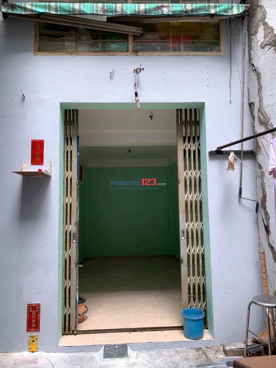 Phòng trọ tầng trệt Phạm Văn Chí Quận 6 35m² 3tr7/tháng