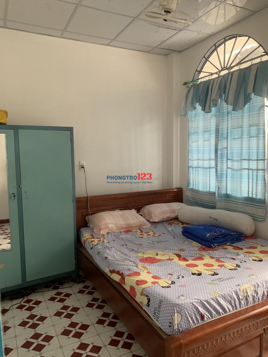 Cho thuê nhà nguyên căn hẻm cụt quận Tân Phú