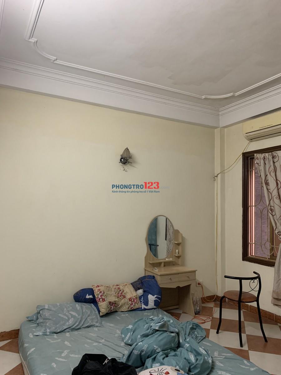 Cho thuê phòng tại nhà 4 tầng. Giá 1m8